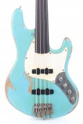 Sandberg California II TT-4 Fretless Roqueforte Blue Hard Core Masterpiece