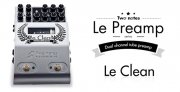 Two notes LeClean 2 Channel Tube Preamplifier Pedal