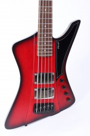 Sandberg Forty Eight 5 string redburst matte