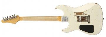 Friedman Cali Guitar Translucent White