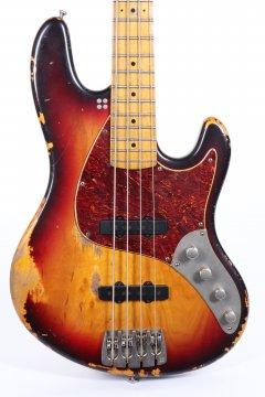 Sandberg California II TT-4 3 Tone Sun Burst Hard Core Masterpiece Aged